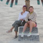 From a Burning Man to a Burning Woman