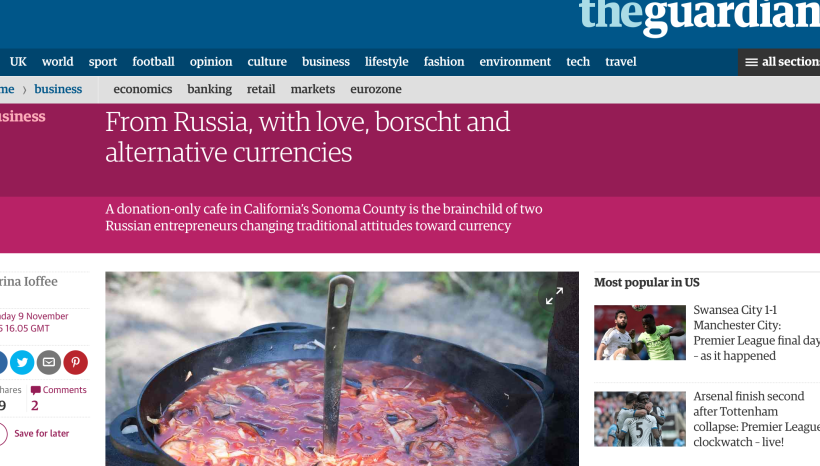 The Guardian US about Russian house #1