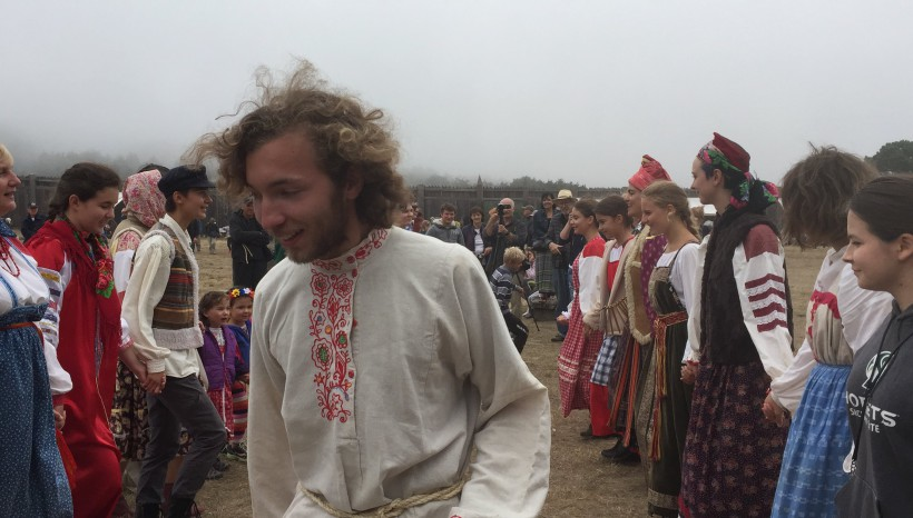 Happiness in Fort Ross Festival