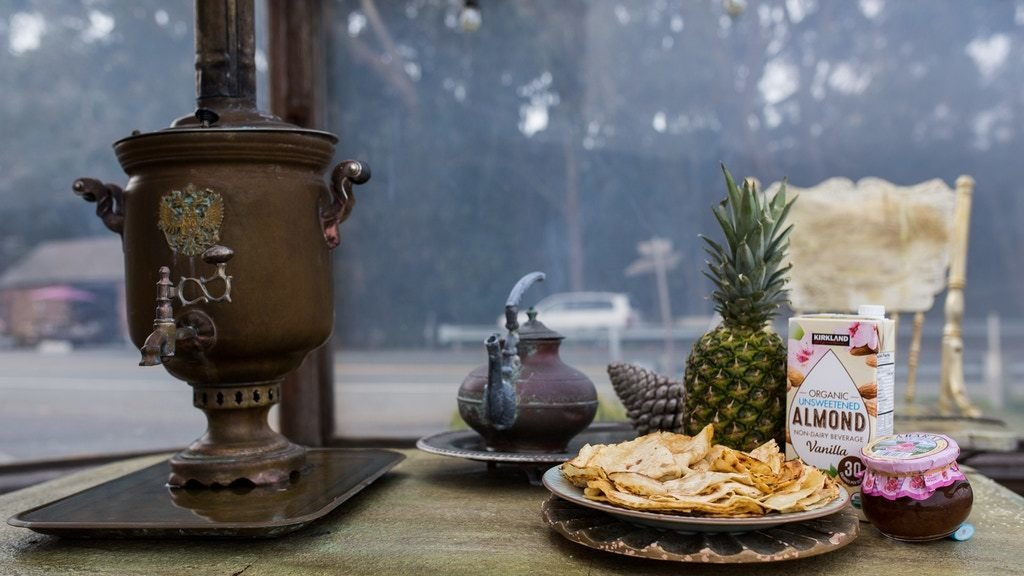 Tea ceremony with samovar (Gift Certificate)
