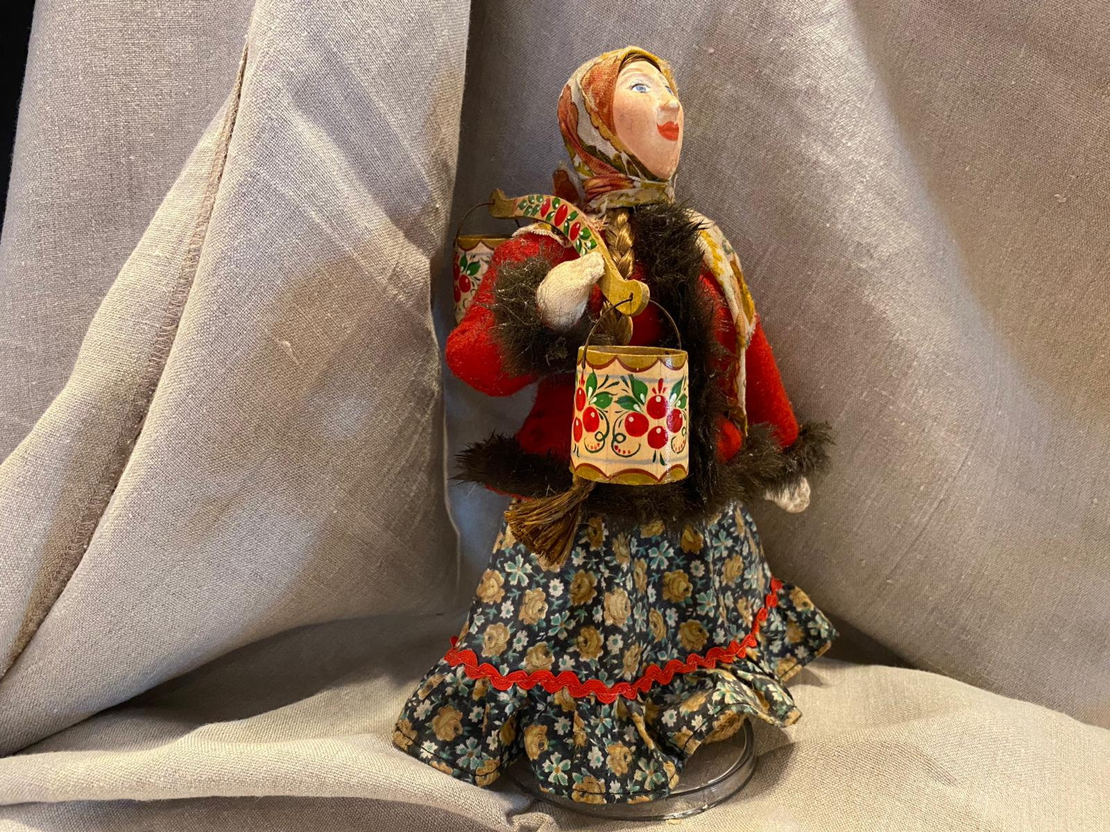 Fabric doll  - Peasant women