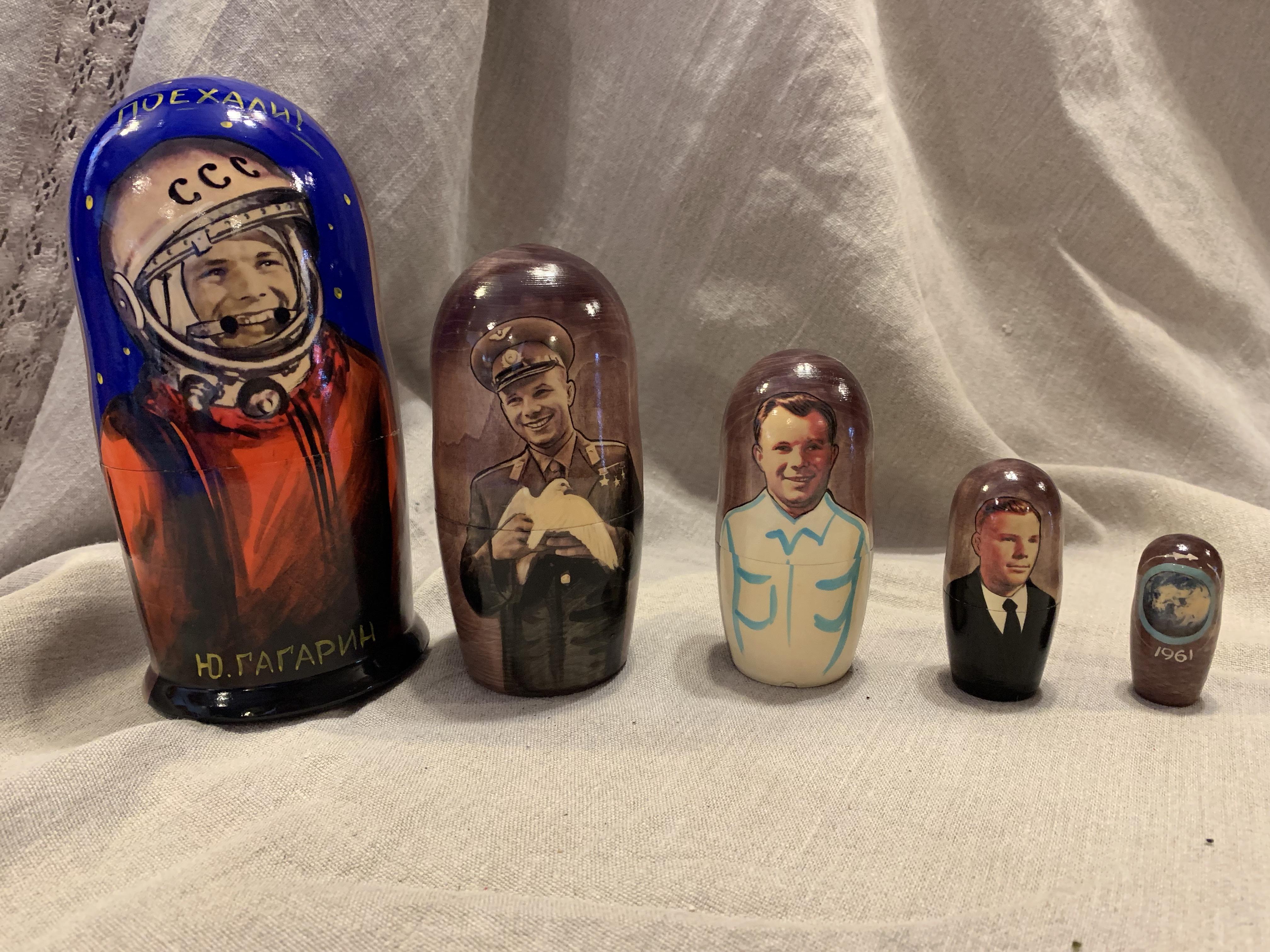 Gagarin Matryoshka
