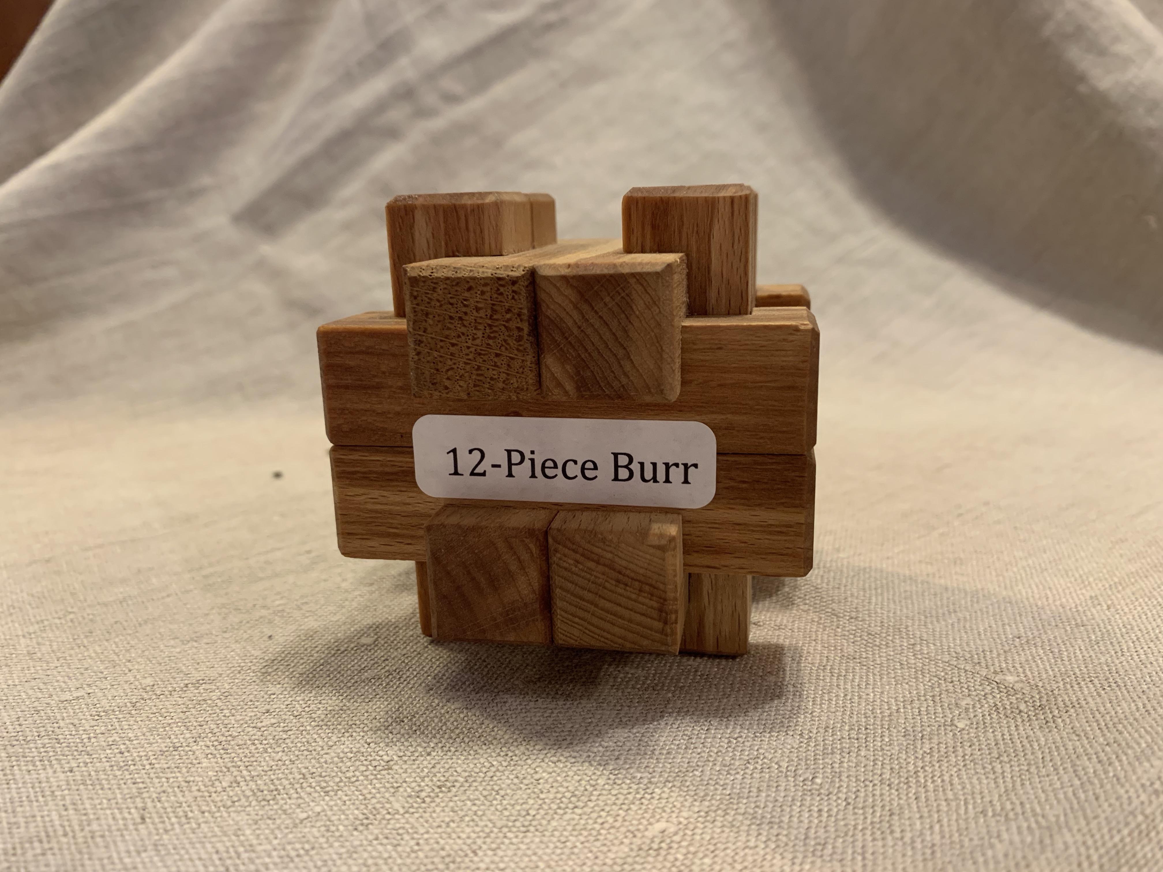 12 Piece Burr
