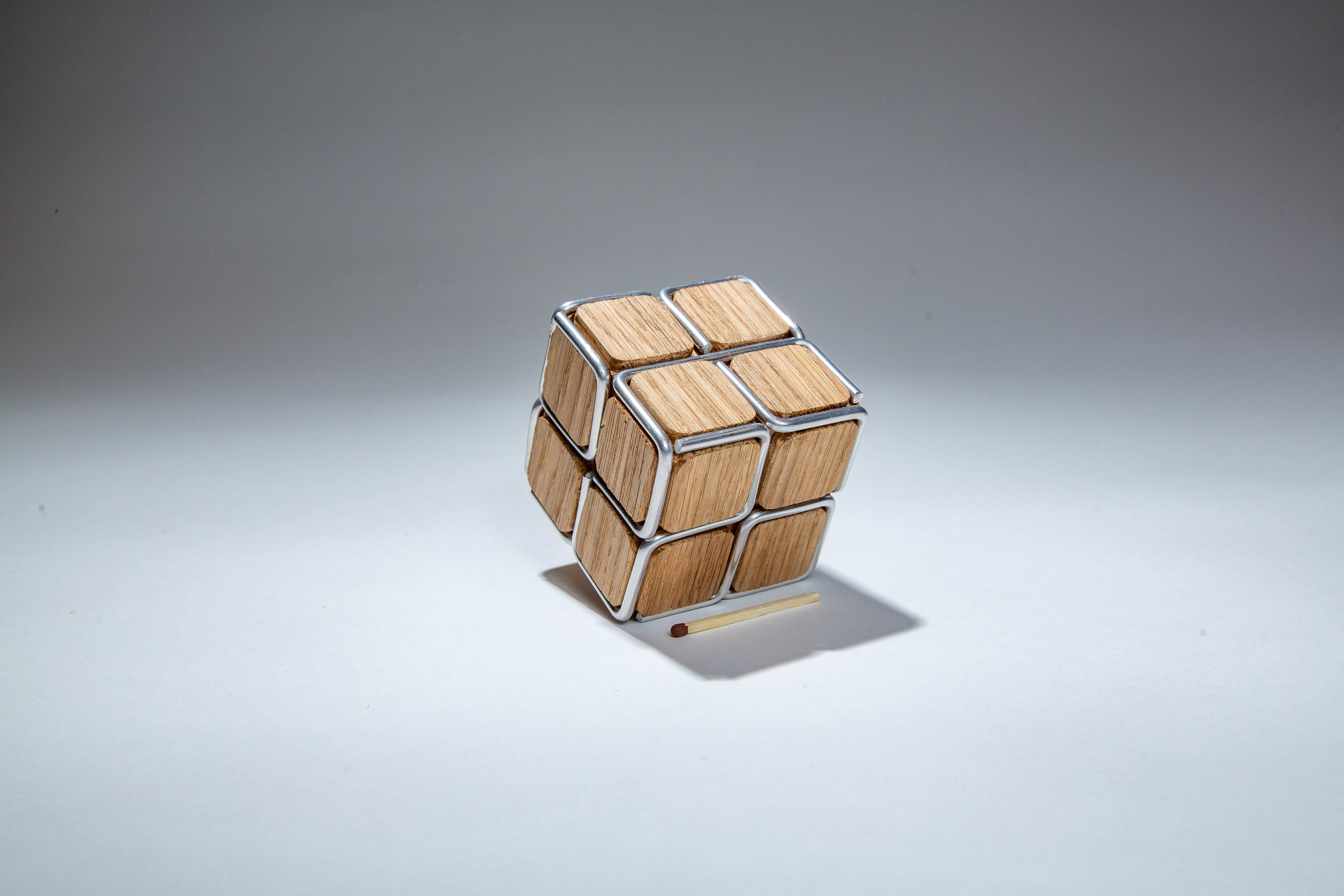 Cube with the frame