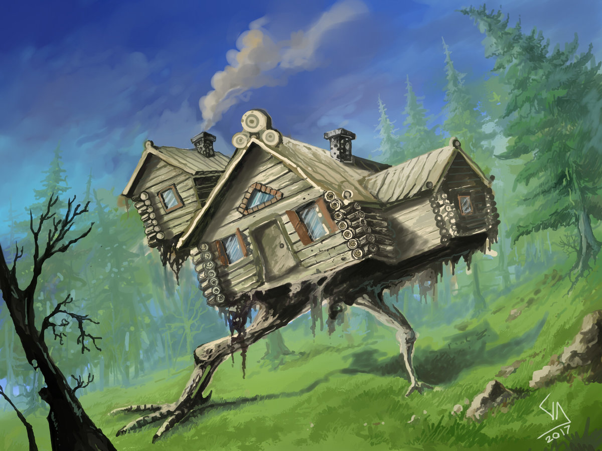 Create a project like Russian House#1 - Russian House #1